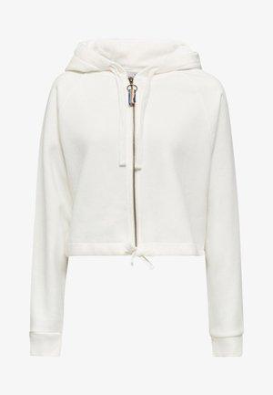 Zip-up hoodie - off white