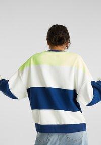edc by Esprit - OVERSIZED-SWEATSHIRT MIT STREIFEN - Sweatshirt - ink - 2