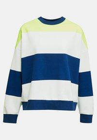 edc by Esprit - OVERSIZED-SWEATSHIRT MIT STREIFEN - Sweatshirt - ink - 6
