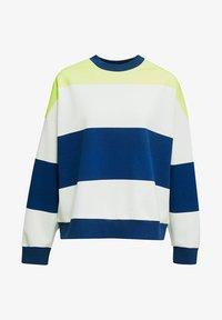edc by Esprit - OVERSIZED-SWEATSHIRT MIT STREIFEN - Sweatshirt - ink - 5