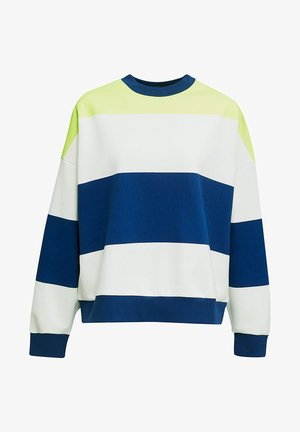 OVERSIZED-SWEATSHIRT MIT STREIFEN - Sweater - ink