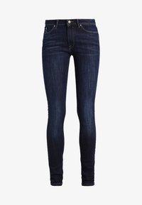 edc by Esprit - Jeansy Skinny Fit - blue dark wash - 5