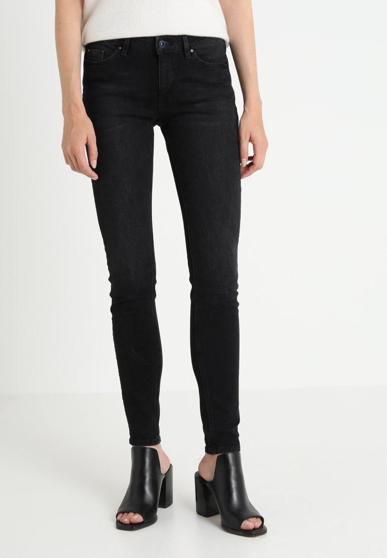 edc by Esprit - Jeans Skinny Fit - black dark wash