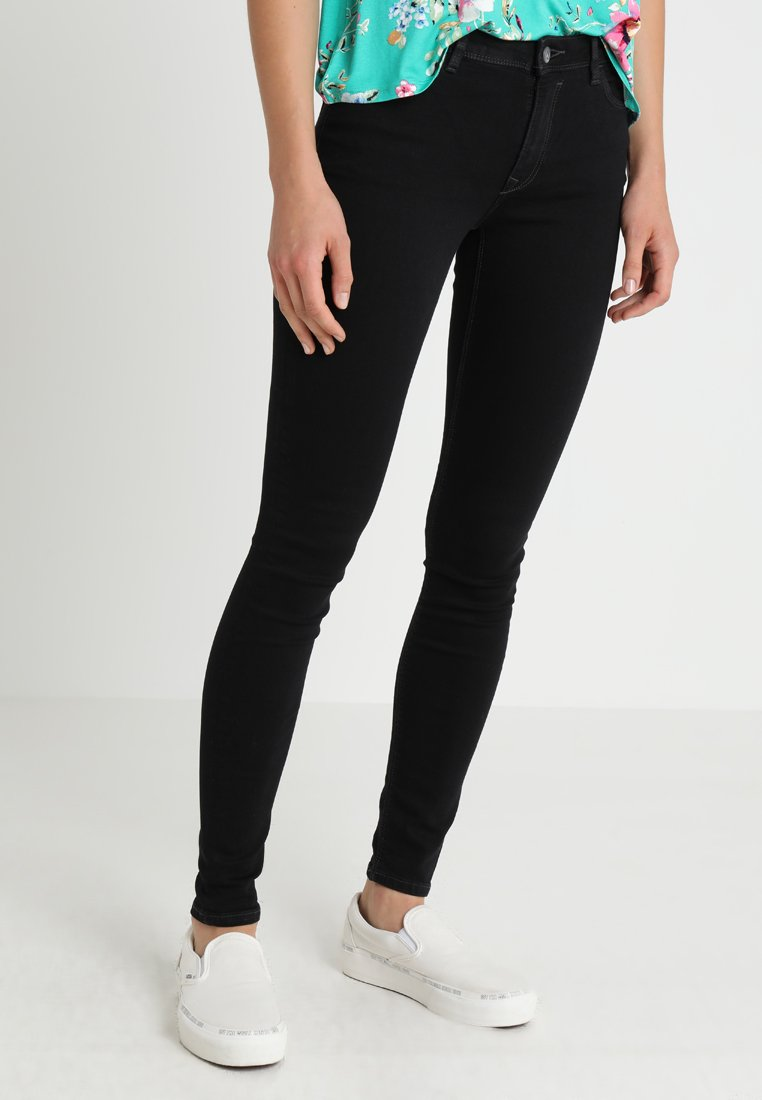 edc by Esprit Jeansy Skinny Fit - black rinse