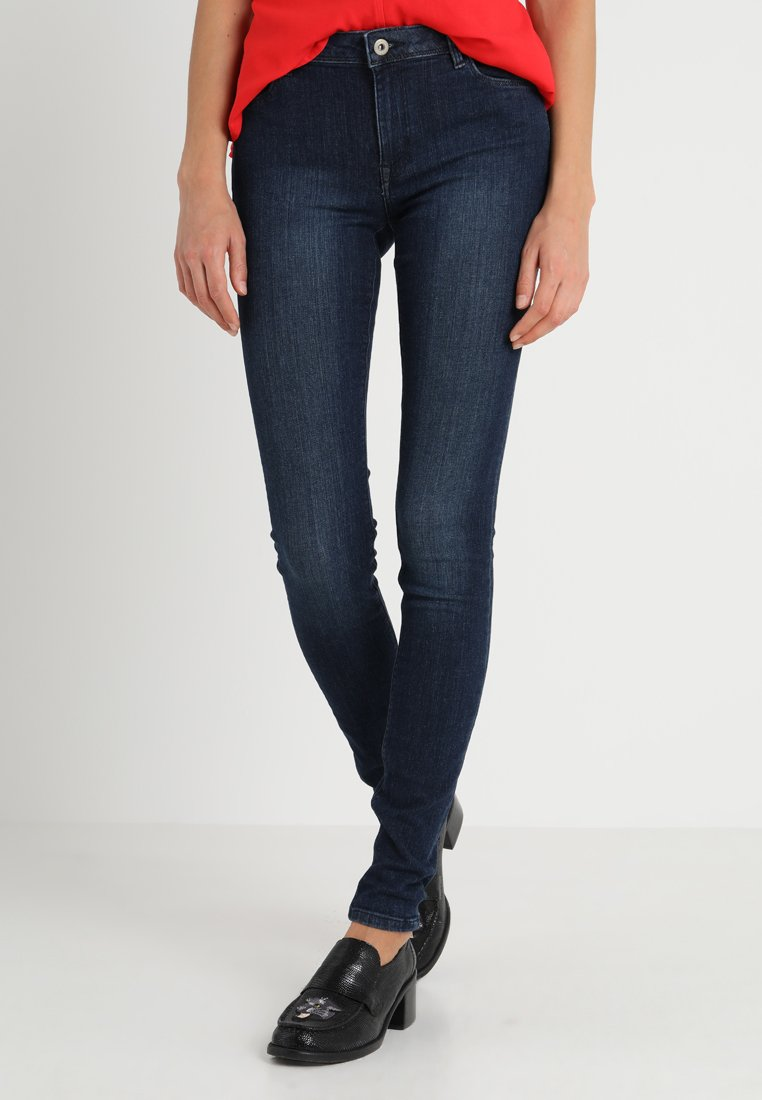 edc by Esprit - Jeggings - blue dark wash