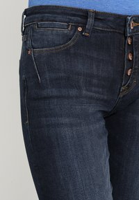 edc by Esprit - Jeansy Slim Fit - blue dark wash - 5