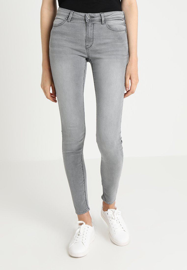 edc by Esprit - Jeans Skinny Fit - grey light wash