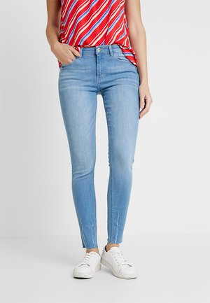 Jeansy Skinny Fit - blue light wash