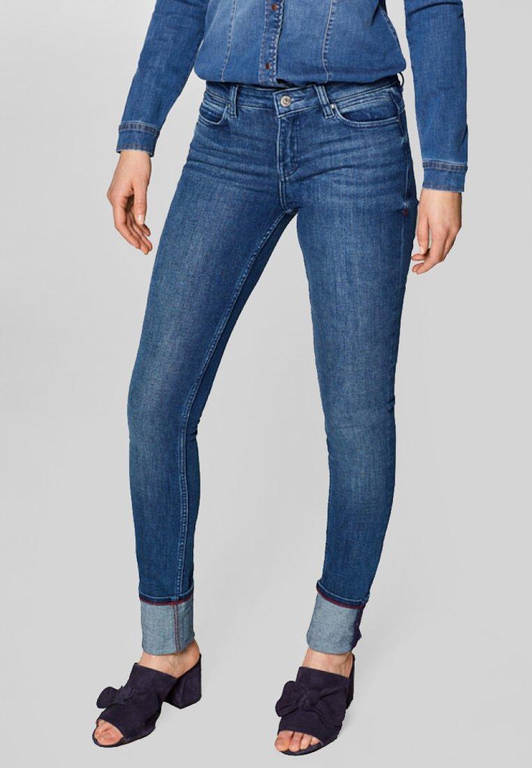 edc by Esprit - Slim fit jeans - dark blue