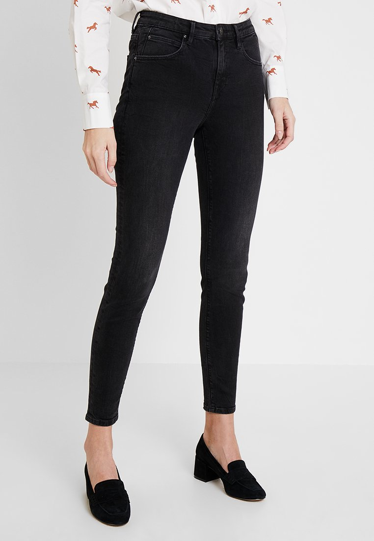 edc by Esprit - Jeans Skinny Fit - black dark wash