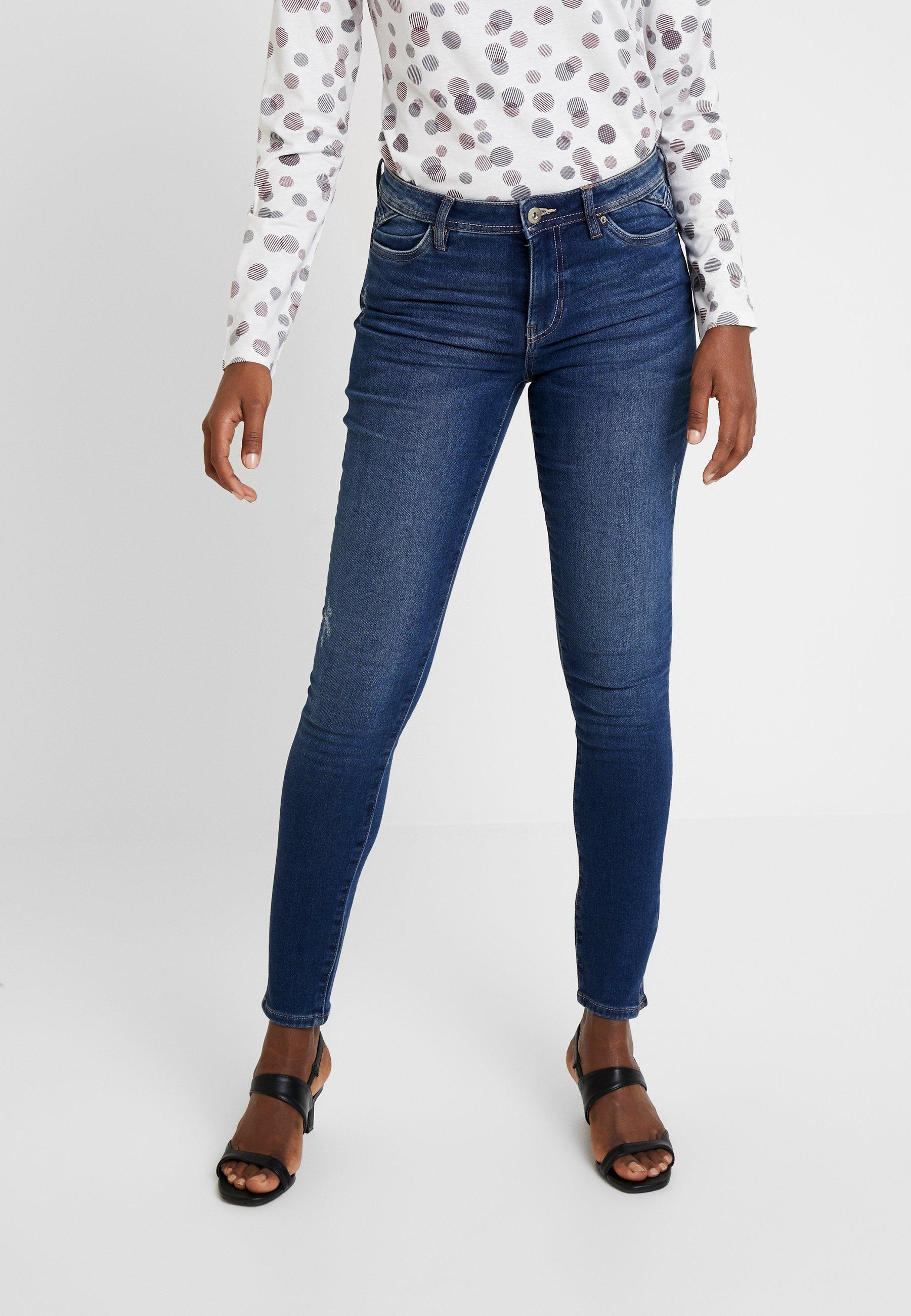 Esprit Jeans SkinnyBlue Dark By Edc Wash j4AR5L