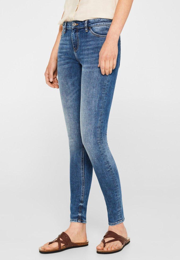 edc by Esprit - Jeans Skinny Fit - blue denim