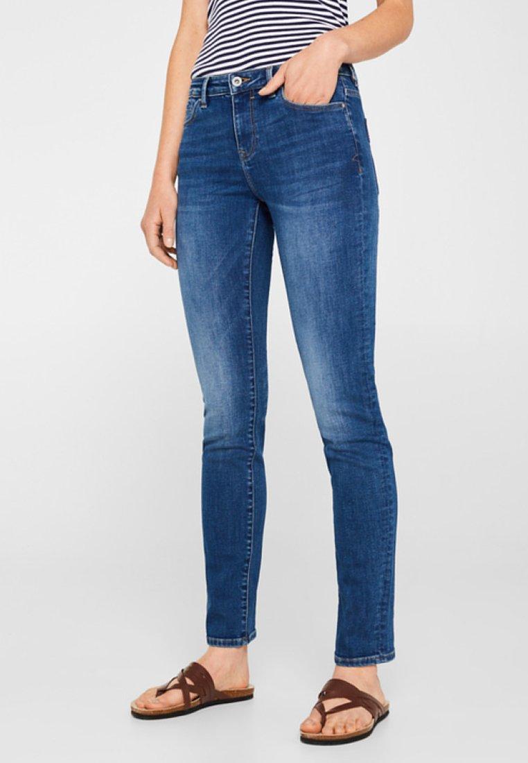 edc by Esprit - Jeans Slim Fit - stone blue denim