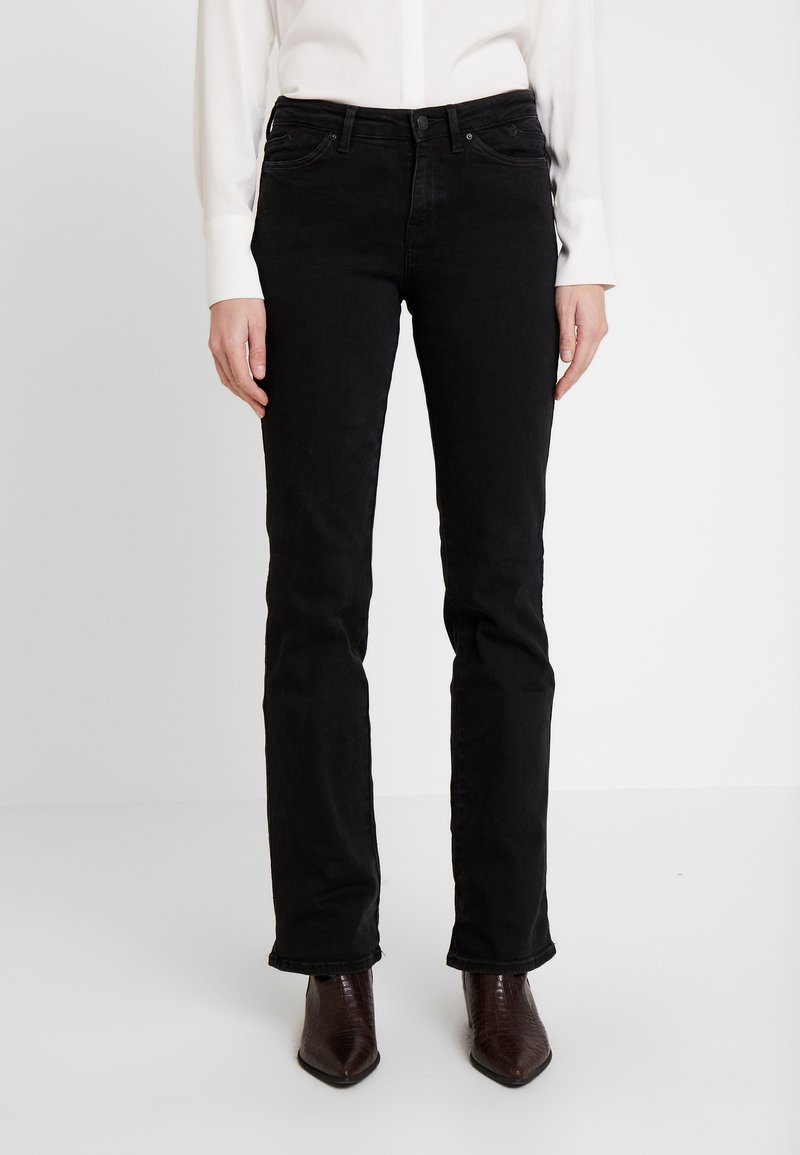 edc by Esprit - Jeansy Bootcut - black rinse