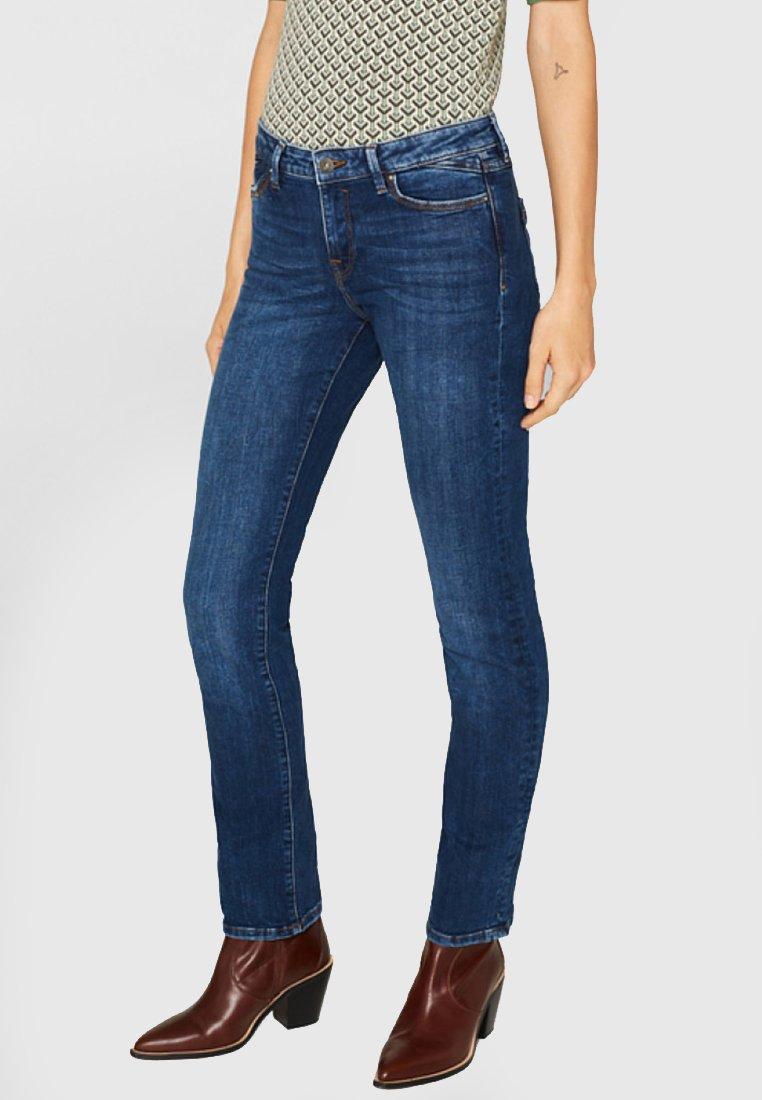 edc by Esprit - Jeans Straight Leg - blue medium washed