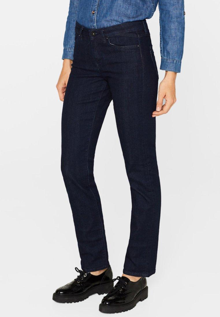 edc by Esprit - Jeans Straight Leg - blue rinse