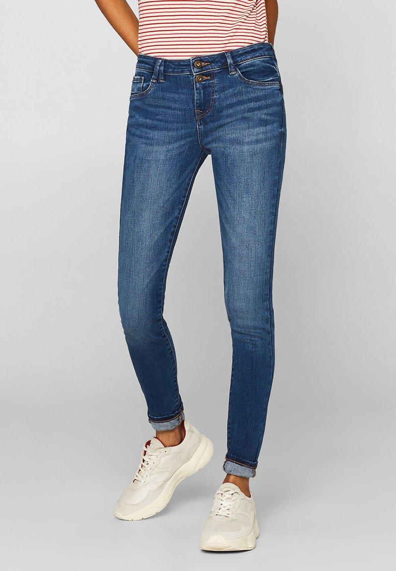 edc by Esprit - Jeans Slim Fit - blue denim