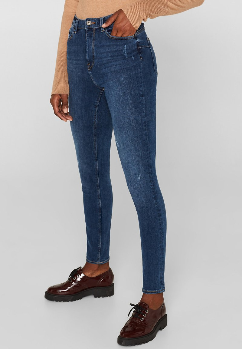 edc by Esprit - Jeans Skinny Fit - blue medium washed