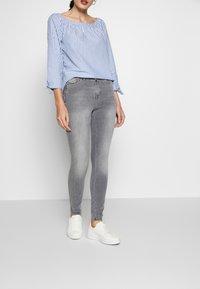 edc by Esprit - SKINNY - Jeans Skinny Fit - grey light wash - 0