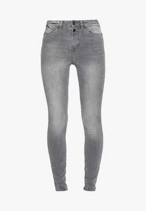 SKINNY - Jeansy Skinny Fit - grey light wash