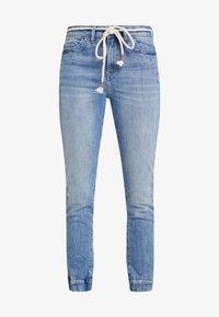 edc by Esprit - Slim fit jeans - blue light wash - 4
