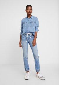 edc by Esprit - Slim fit jeans - blue light wash - 1