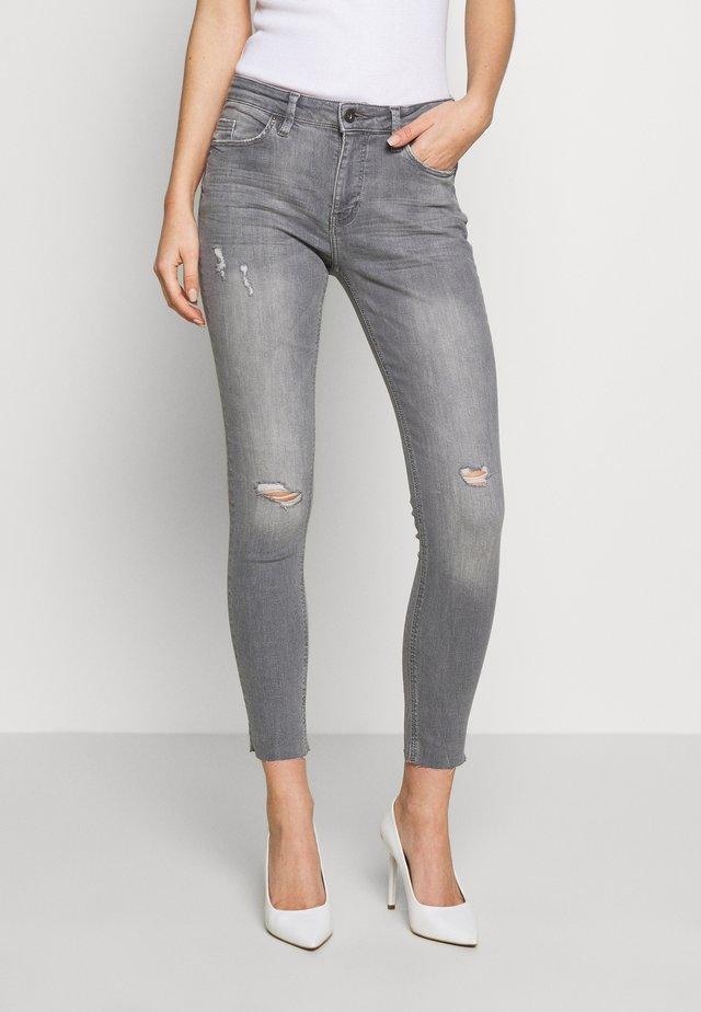 Jeans Skinny Fit - grey light wash