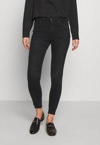 edc by Esprit - Jeans Skinny Fit - black dark wash - 0