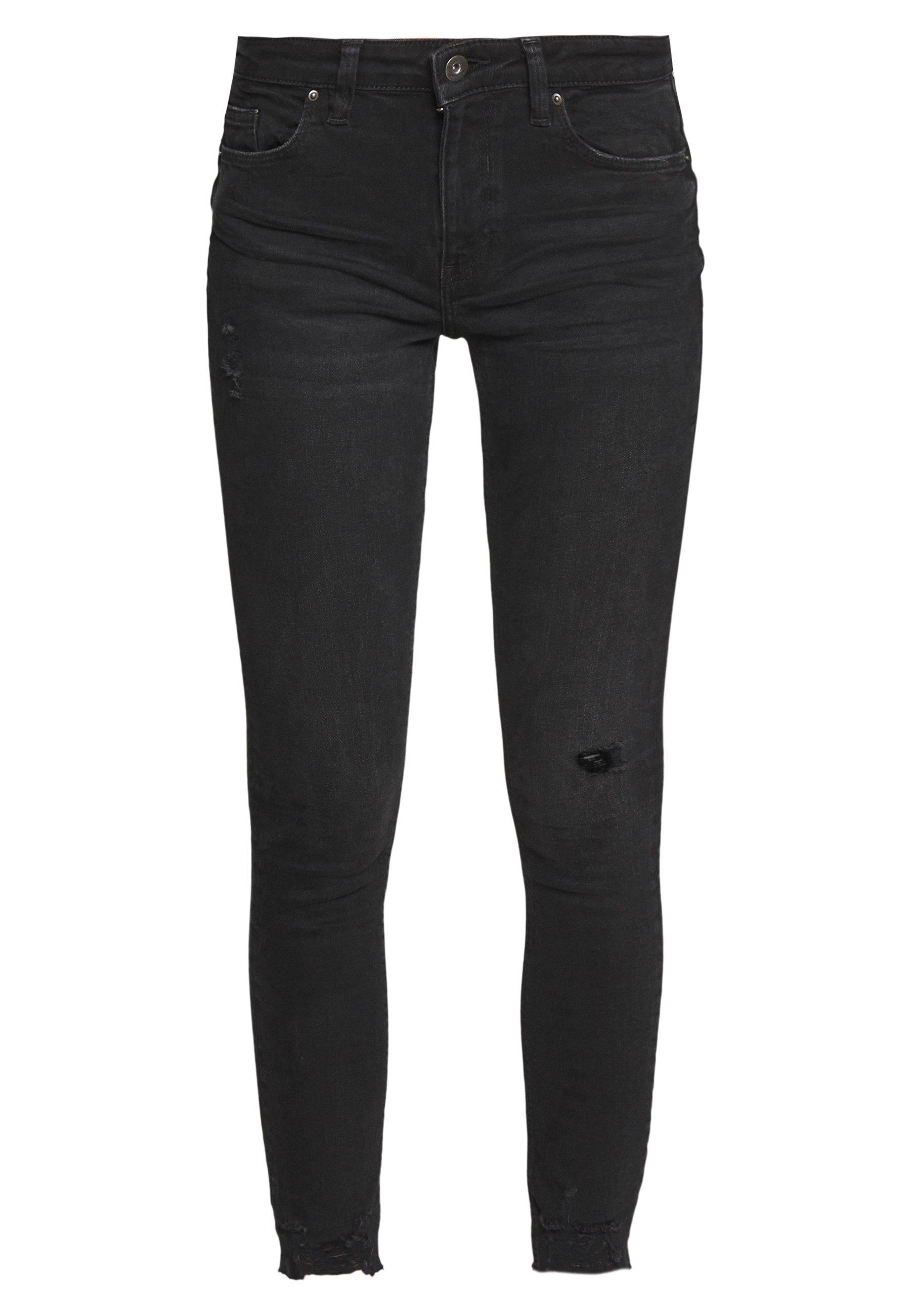 edc by Esprit Jeansy Skinny Fit - black dark wash