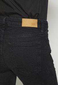 edc by Esprit - Jeans Skinny Fit - black dark wash - 5