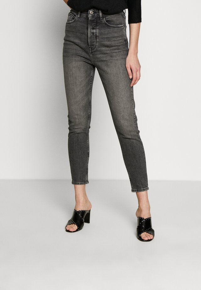 VINTAGE - Jeansy Relaxed Fit - black dark