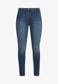 edc by Esprit - Jeans Skinny Fit - blue medium wash - 5