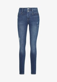 edc by Esprit - Jeans Skinny - blue dark wash - 4