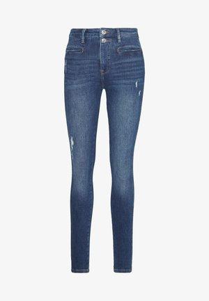 Jeansy Skinny Fit - blue dark wash
