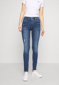 edc by Esprit - Jeans Skinny - blue dark wash - 0