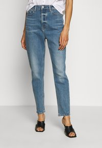 edc by Esprit - VINTAGE - Jeansy Straight Leg - blue medium wash - 0