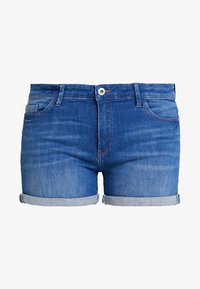 edc by Esprit - Szorty jeansowe - blue medium wash - 4