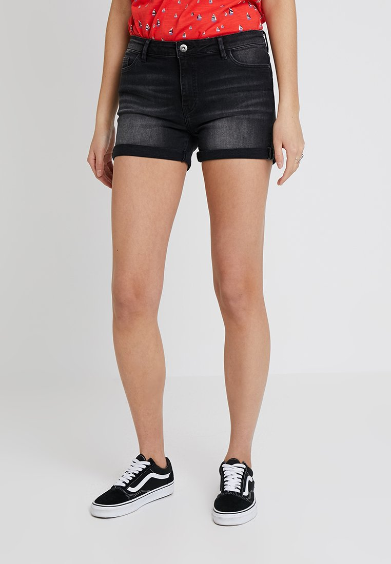 edc by Esprit - Jeans Shorts - black dark wash