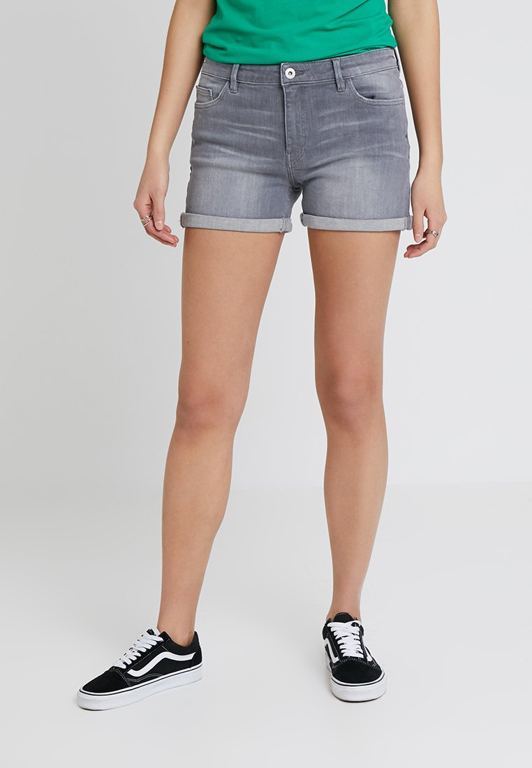edc by Esprit - Jeans Short / cowboy shorts - grey light wash