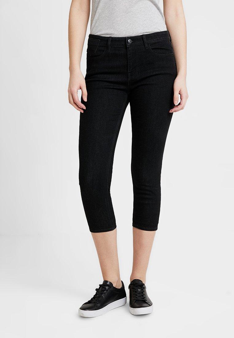 edc by Esprit - CAPRI - Shorts - black rinse
