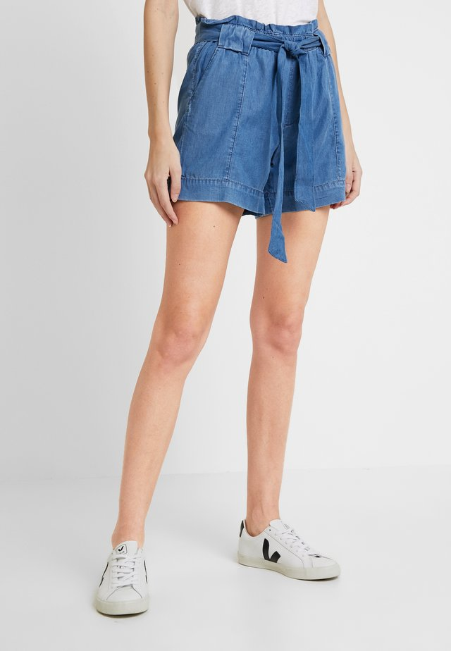 PAPERBAG - Shorts - blue medium wash