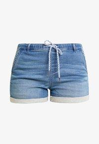 edc by Esprit - JOGG  - Denim shorts - blue medium wash - 5