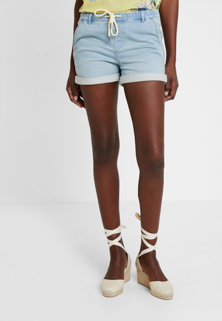 edc by Esprit - JOGG  - Denim shorts - blue light wash