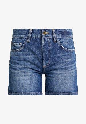 Denim shorts - blue dark wash