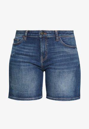 Jeansshort - blue medium wash