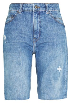 RELAXED BERM - Jeansshorts - blue light wash