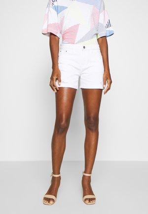 Jeansshorts - white