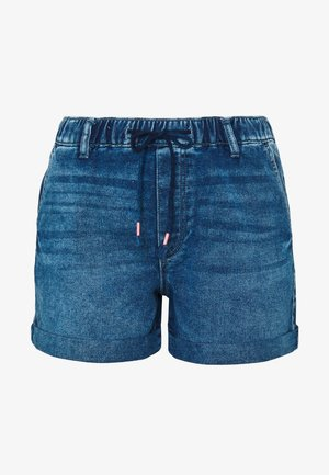 Denim shorts - blue dark wash