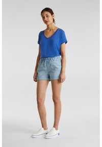 edc by Esprit - Denim shorts - blue light wash - 1