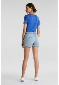 edc by Esprit - Denim shorts - blue light wash - 2